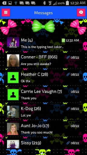 GO SMS - SCS154