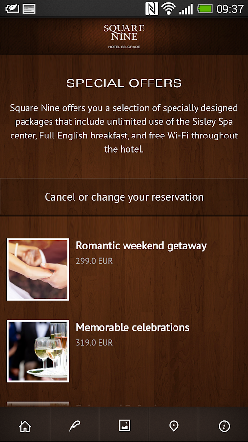 Square Nine hotel- screenshot