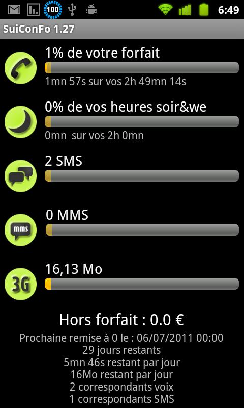 Pack SuiConFo ZeroForfait - screenshot