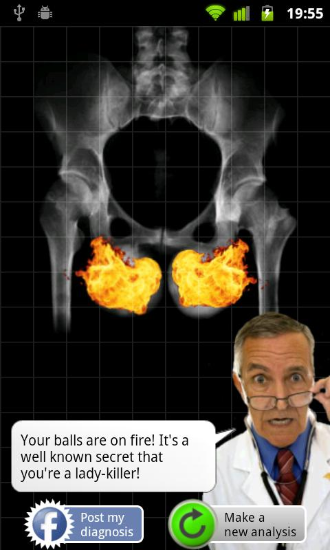 X-Ray Testicles Scanner - screenshot