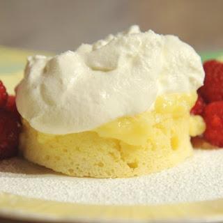 Steamed Lemon Pudding Cakes.