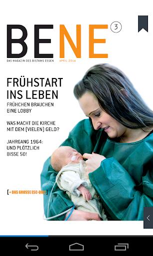 BENE Magazin des Bistums Essen