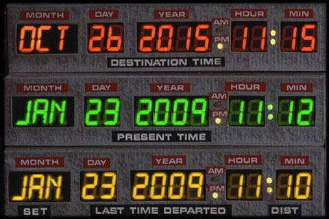 DeLorean Time Circuit