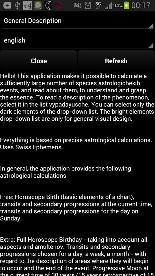 Horoscope: Hrvatska (horoskop)- screenshot