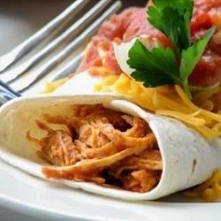 Salsa Chicken Burrito Filling