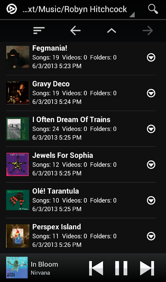 MixZing Music Player- screenshot