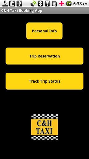 C H Taxi Booking App