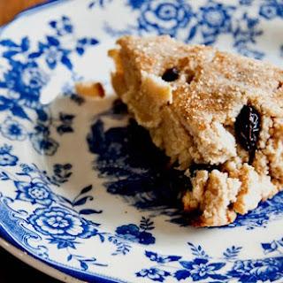 Gluten Free Coconut Raisin Scones.