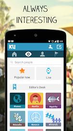 KU - creative social network Screenshot 6