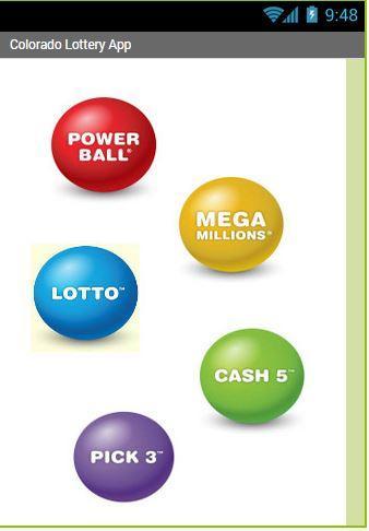 Colorado Lottery App
