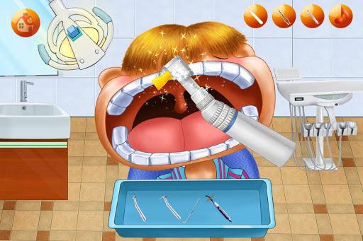 小牙醫:保護牙齒-孩子們的遊戲