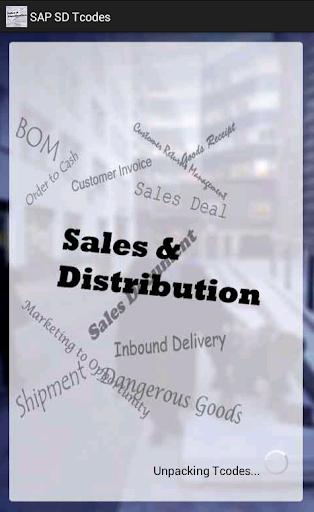 SAP SD Tcode with Screenshots