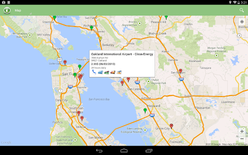 Alternative Fuel Locator USA - screenshot thumbnail