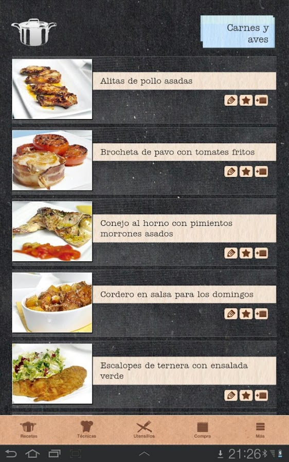 Atr vete a cocinar android apps on google play for Cocinar in english