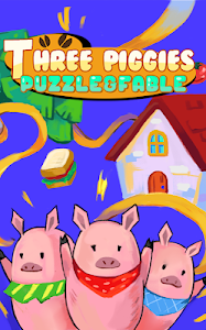 Three piggies: puzzle & fable v1.0.0