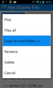 Net Shares File Explorer- screenshot thumbnail