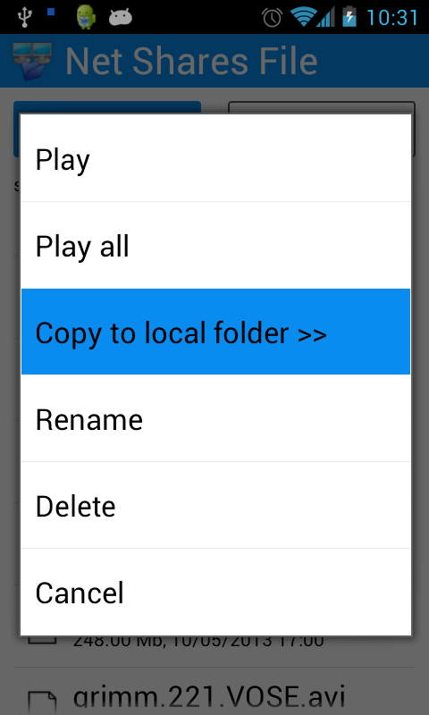 Net Shares File Explorer- screenshot