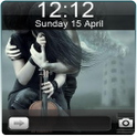 Cool Couple Go Locker Theme icon