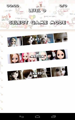 拼圖娃娃可愛