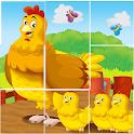 Animal Jigsaw Tile Puzzle icon