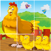 Animals Tile Puzzle For Kids ♥