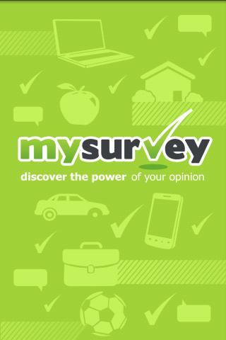 MySurvey - screenshot