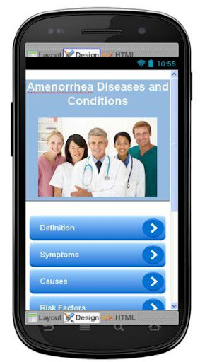 Amenorrhea Disease Symptoms