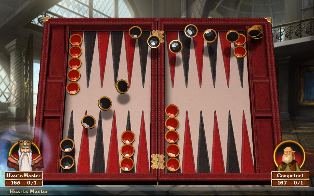 Hardwood Backgammon Free - screenshot