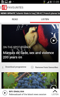 RFI - screenshot thumbnail