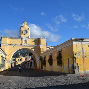 Antigua Guatemala by Luis Albanes - Buildings & Architecture Architectural Detail