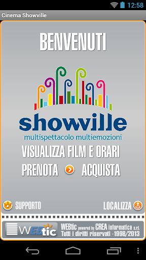 Webtic Showville Bari Cinema
