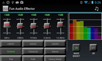 Screenshot of Fun Audio Effector