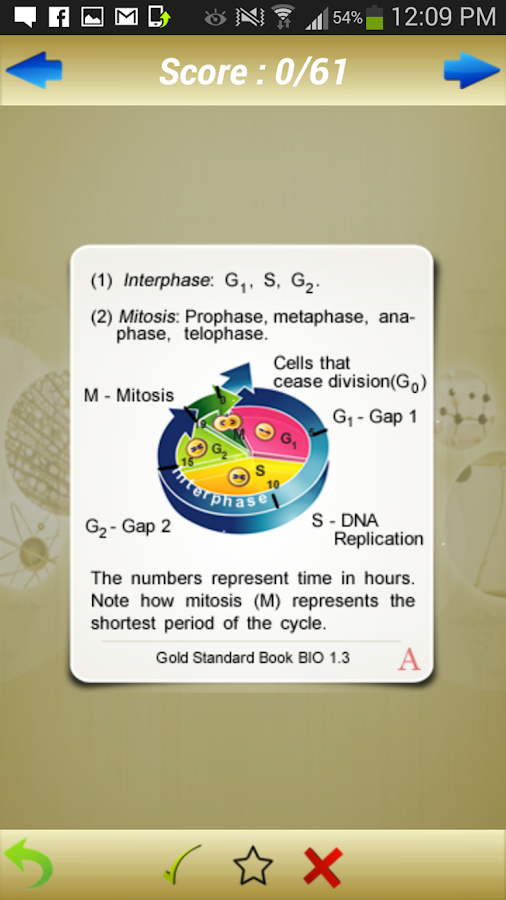 GAMSAT Science Flashcards- screenshot