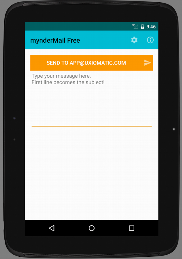 mynderMail Free- screenshot