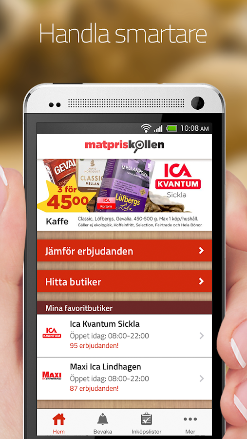 Matpriskollen - screenshot