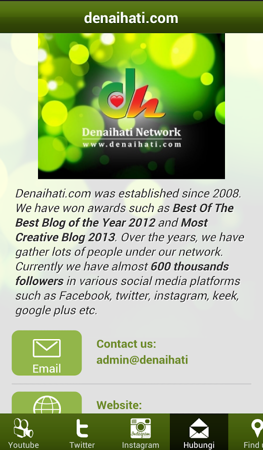 Denaihati Network- screenshot