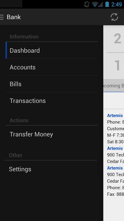 Henning-OT Bank Mobile - screenshot