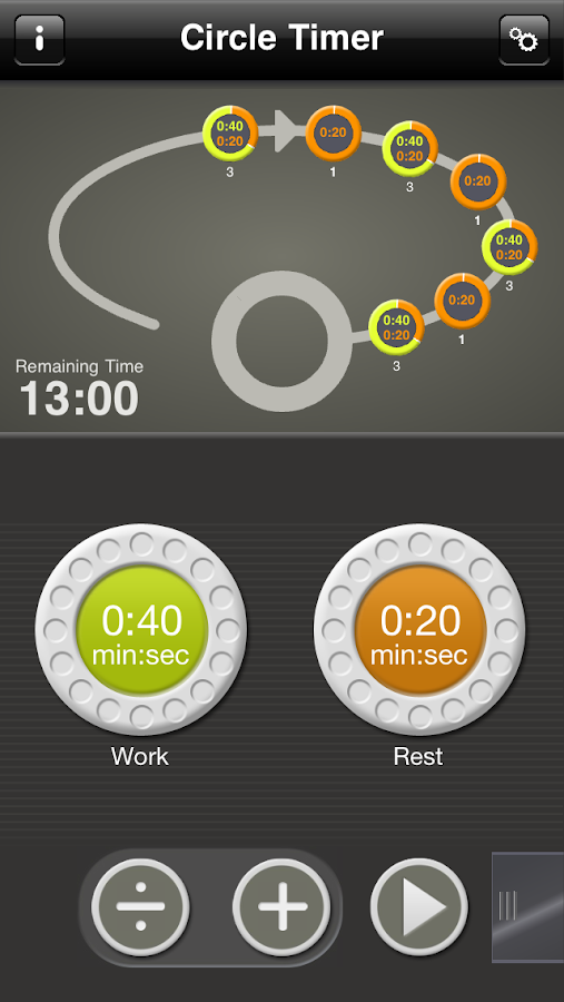 Circle Timer- screenshot