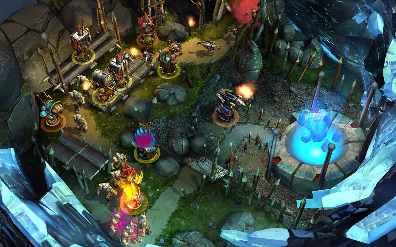 Defenders: TD Origins screenshot #15