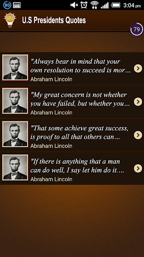 American Presidents Quotes