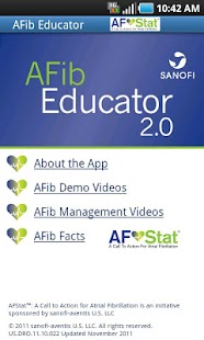 AFibEducator - screenshot thumbnail