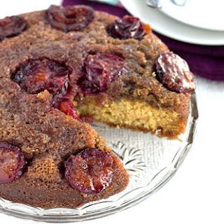 Plum Upside Down Cake.