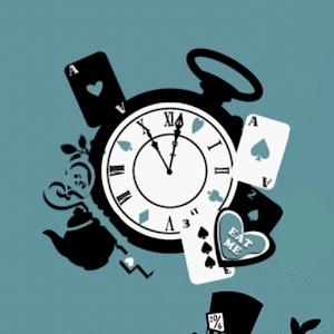 Mad tea party ClockWidget