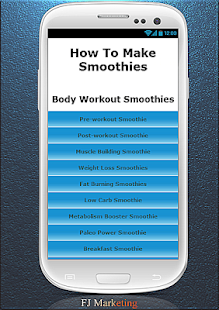 How To Make Smoothies - screenshot thumbnail