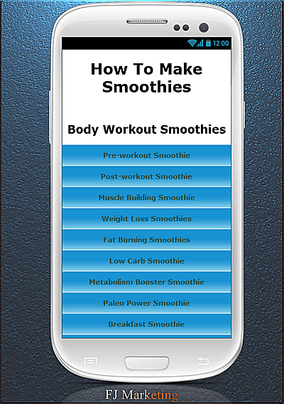 How To Make Smoothies - screenshot
