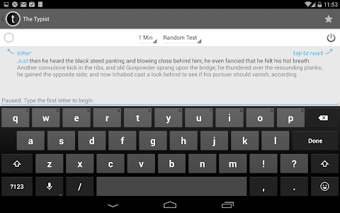 Typist: A Quick Typing Test screenshot 14