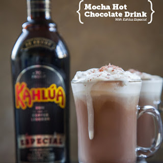 Mocha Hot Chocolate Recipe with Kahlúa Especial