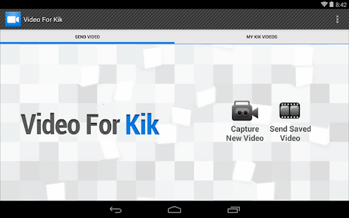 Video For Kik - screenshot thumbnail