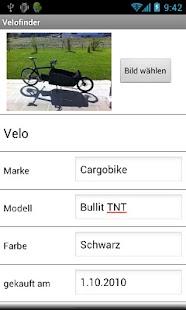 Velofinder- screenshot thumbnail