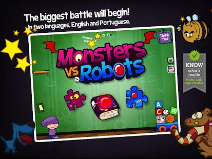Monsters vs Robots- screenshot thumbnail
